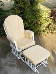 Dutailier Glider Rocking Nursing Chair & Footstool