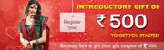 SimpleSarees.com - Register & Get Gift Coupon Rs. 500