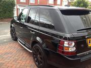 2006 LAND ROVER RANGE ROVER SPORT HSE 2.7TDV6 LAND ROVER JAVA BLAC