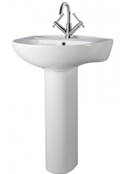 Melbourne 550mm 1TH Basin & Pedestal