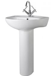 Melbourne 550mm 1TH Basin & Pedestal