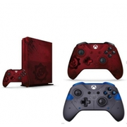 Microsoft Xbox One S 2TB - Gears of War 4 Limited Edition Red