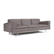 Contemporary Sofas - Contempo Al 2 & 3 Seater Leather Sofa