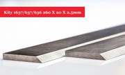 Kity 1637/637/636 Planer Blades Knives 260 X 20 X 2.5mm TCT