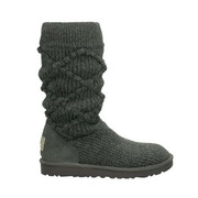 5879 Grey Women's Argyle Knit UGG